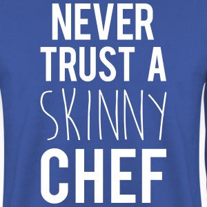 A Skinny Chef Funny Quote Sweatshirts - Herre sweater