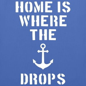 home is where the anchor drops Anker Hamburg Bags & Backpacks - Tote Bag