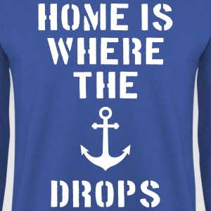 home is where the anchor drops Anker Hamburg Pullover & Hoodies - Männer Pullover