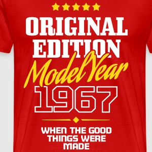 Original Edition - Model Year 1967 T-shirts - Herre premium T-shirt