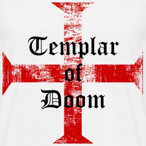 Templar of doom - T-shirt Homme