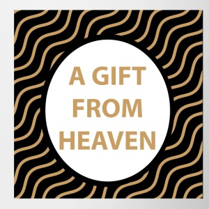 A gift from heaven - Tasse zweifarbig