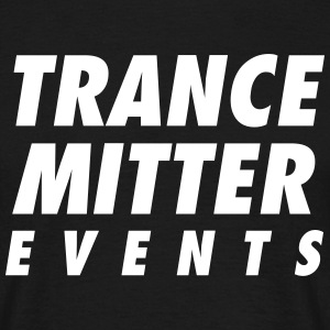 Trancemitter Events Logo Shirt - Männer T-Shirt