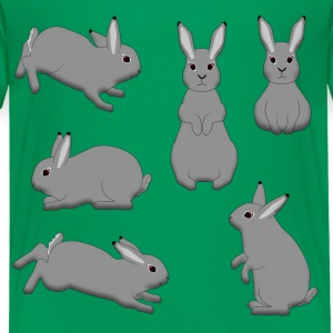 Rabbit grey Shirts - Kids' Premium T-Shirt