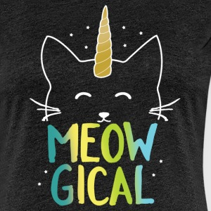 Charcoal gray Meowgical T-Shirts - Women's Premium T-Shirt