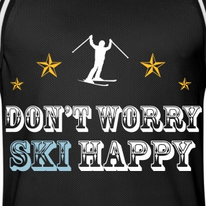 Don't worry ski happy Sportbekleidung - Männer Basketball-Trikot