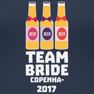 Team Bride Copenhagen 2017 S89sf T-Shirts - Women's Premium T-Shirt