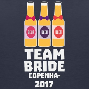 Team Bride Copenhagen 2017 S89sf T-Shirts - Women's V-Neck T-Shirt