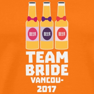 Team Bride Vancouver 2017 S13n1 T-Shirts - Men's Premium T-Shirt