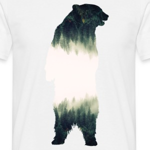Mountain Bear T-Shirts - Men's T-Shirt