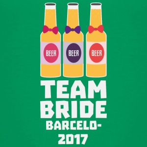 Team Bride Barcelona 2017 Su269 Shirts - Teenage Premium T-Shirt