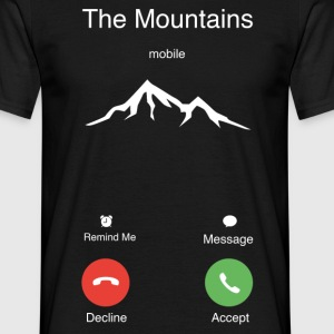 The Mountains T-Shirts - Men's T-Shirt