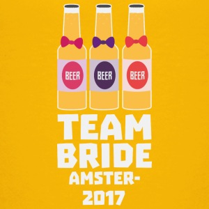 Team Bride Amsterdam 2017 Sn034 Shirts - Teenage Premium T-Shirt