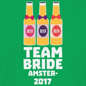 Team Bride Amsterdam 2017 Sn034 T-Shirts - Men's T-Shirt