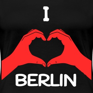 I Love Berlin T-Shirts - Frauen Premium T-Shirt