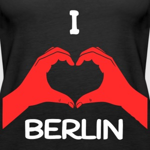 I Love Berlin Tops - Frauen Premium Tank Top