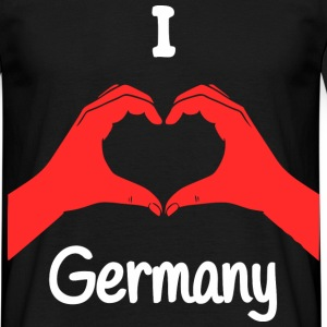 I Love Germany T-Shirts - Männer T-Shirt