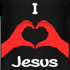 I Love jesus T-Shirts - Teenager Premium T-Shirt
