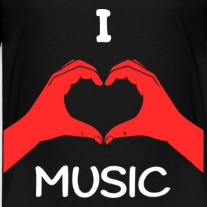 I Love Music T-Shirts - Kinder Premium T-Shirt