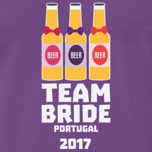 Team Bride Portugal 2017 Sg0kx T-Shirts - Men's Premium T-Shirt