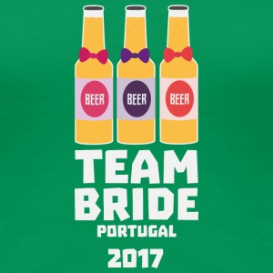 Team Bride Portugal 2017 Sg0kx T-Shirts - Women's Premium T-Shirt