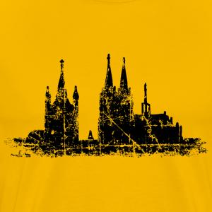 Köln Skyline Vintage Kölner Dom
