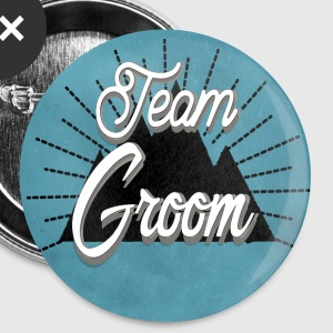 team_groom_mountain Buttons - Buttons klein 25 mm