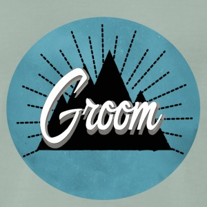 groom_mountain T-shirts - Mannen Premium T-shirt