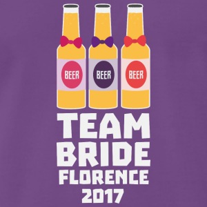 Team Bride Florence 2017 Shy7k T-Shirts - Men's Premium T-Shirt