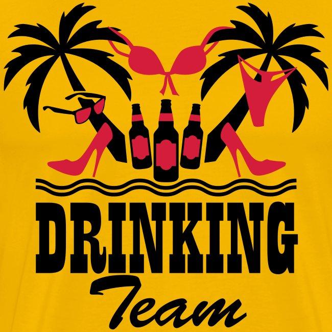 19 Drinking Team Insel Spaß Sex Boys Girls on Tour T-Shirt