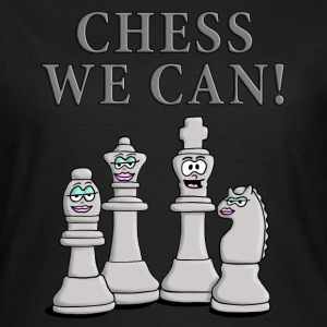 chess_we_can_04_2017_b T-Shirts - Frauen T-Shirt
