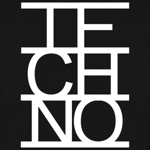 Techno Schrift Lines Text Clubbing Electro Musik Pullover & Hoodies - Männer Pullover