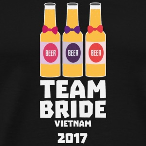 Team Bride Vietnam 2017 S2338 T-Shirts - Men's Premium T-Shirt