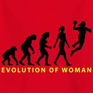 Evolution der Frau Damenhandball_03_2017_b_2c T-Shirts - Kinder T-Shirt
