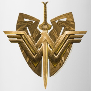 Bros Wonder Woman Logo Shield Sword - Tofarget kopp