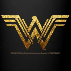 Bros Wonder Woman Golden Logo - Ensfarvet krus