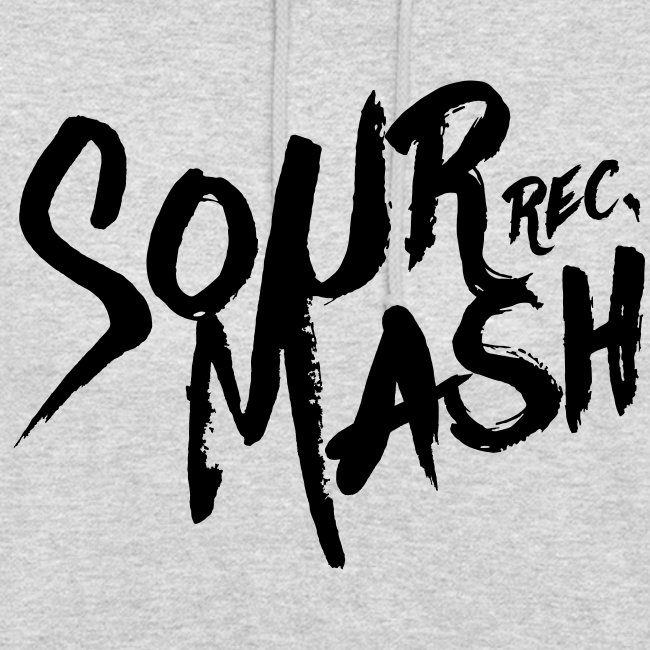 Kapuzenpullover Unisex // SOUR MASH (Logo schwarz)