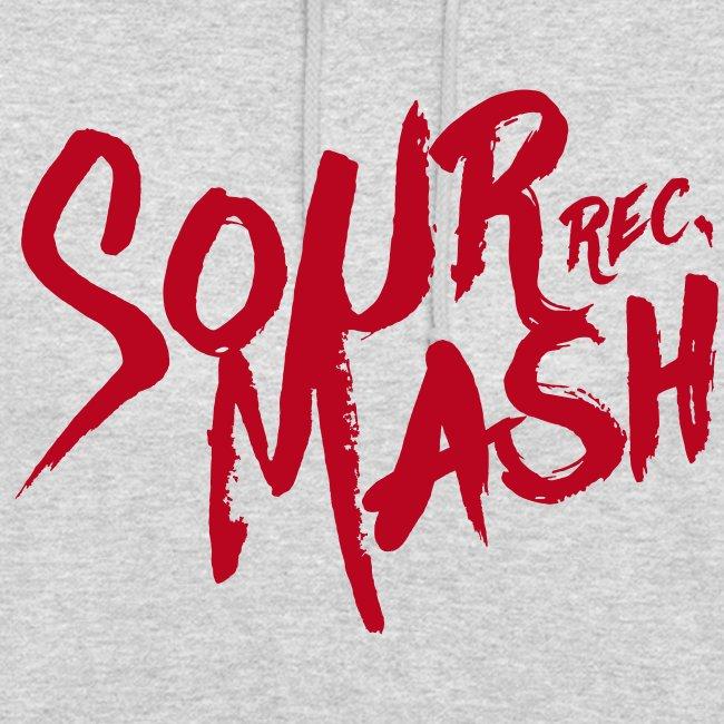 Kapuzenpullover Unisex // SOUR MASH (Logo rot)