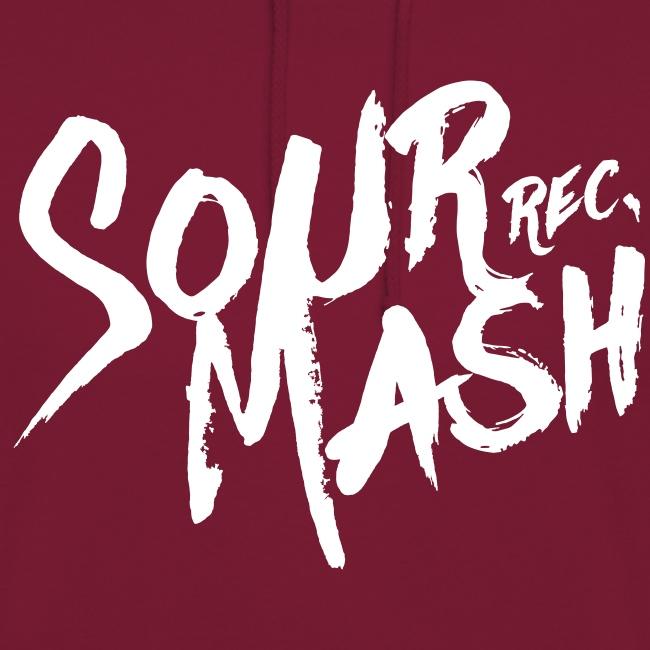 Kapuzenpullover Unisex // SOUR MASH (Logo weiß)