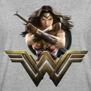 Bros Wonder Woman Crossed Arms Pose - Vrouwen oversize T-shirt