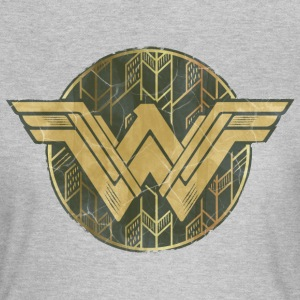Bros Wonder Woman Faded Vintage Logo - Vrouwen T-shirt