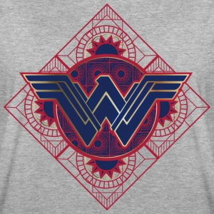 Bros Wonder Woman Geometric Logo - Vrouwen oversize T-shirt