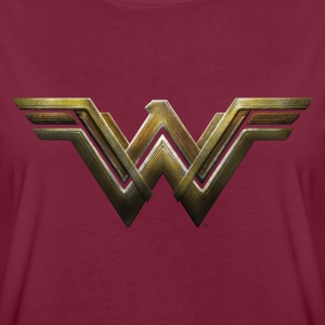 Warner Bros Wonder Woman Logo - Frauen Oversize T-Shirt