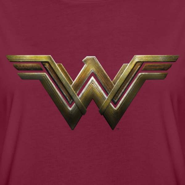 Bros Wonder Woman Logo - Vrouwen oversize T-shirt