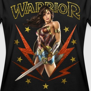 Bros Wonder Woman With Sword Warrior - Vrouwen oversize T-shirt