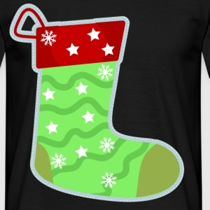 Christmas stocking sock - Men's T-Shirt