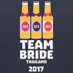 Team Bride Thailand 2017 Sh96y T-Shirts - Women's V-Neck T-Shirt