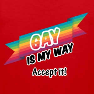 Gay is my Way - Männer Premium Tank Top
