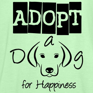 Adopt a Dog for Happiness  - Frauen Tank Top von Bella