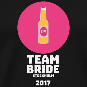 Team bride Stockholm 2017 Henparty S27qy T-Shirts - Men's Premium T-Shirt